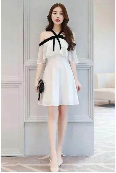 Mẫu váy đẹp dành cho người gầy 2021 giúp che đi khuyết điểm