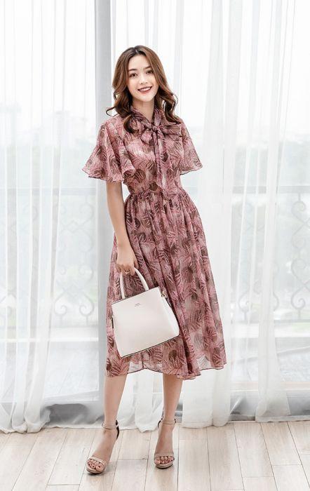 Đổ đứ đừ với váy đầm maxi ngắn đẹp nhất hiện nay