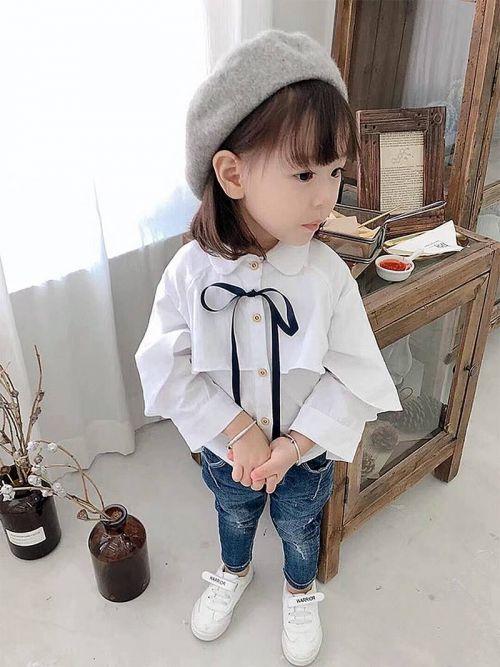 Thời trang xu hướng Hàn Quốc cho bé gái