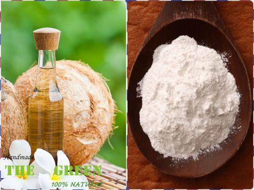 Cách giảm nếp nhăn từ dầu dừa và baking soda