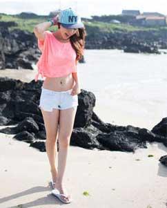 Những bộ cánh đẹp thời trang giành cho tuổi teen du lịch biển